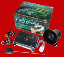 Python Car Alarm: 500-python