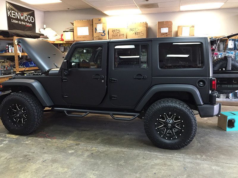 Jeep Installation – 1a