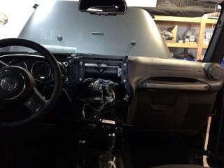 Jeep Installation at Sounds Good To Me in Tempe Arizona