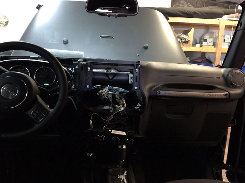 Jeep Installation – 1b