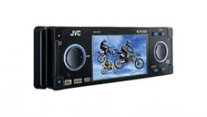 JVC In-Dash DVD Player