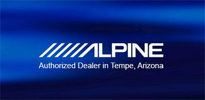 Alpine Electronics Authorized Dealer in Tempe, Arizona
