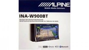 Alpine's ina-w900bt double din head unit