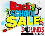Back to School Sale at Sounds Good To Me in Tempe, AZ near Phoenix, Arizona