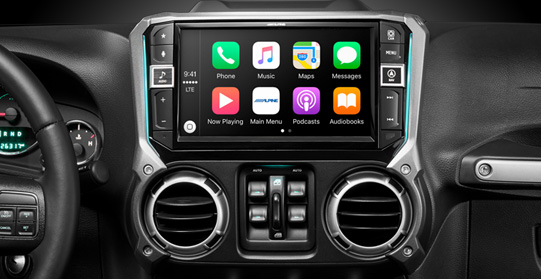 "i209-WRA - Alpine 9"" Restyle Mech-Less In-Dash System with Apple Carplay and Android Auto available at at Sounds Good To Me in Tempe AZ near Phoenix"